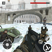 American vs German War Shooter: World War FPS