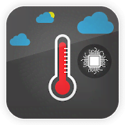 Mobile Thermometer: Mobile, Room & City Temprature