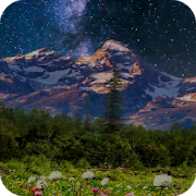 Mountain Flowers Pro Live Wallpaper