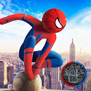 Spider Stickman Rope Hero 2 - Gangster Crime City
