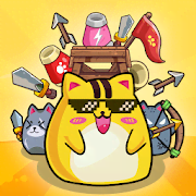 CatnRobot: Idle Defense - Cute Castle TD Game