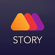 Mouve - animated video stories maker for Instagram