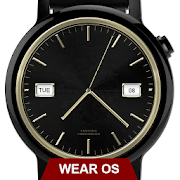 Watch Face Executive Gold Shade Wear OS Smartwatch