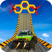 Monster Truck Mega Ramp Stunts Extreme Stunt Games