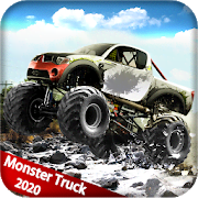 Mega Truck Race - Monster Truck Racing Game