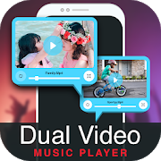 2X Dual Video Music Player