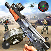 Commando Action : Team Battle - Free Shooting Game