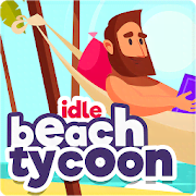 Idle Beach Tycoon : Cash Manager Simulator