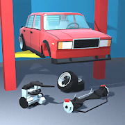 Retro Garage Car Mechanic Simulator