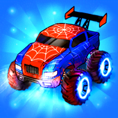 Merge Truck: Monster Truck Evolution Merger game